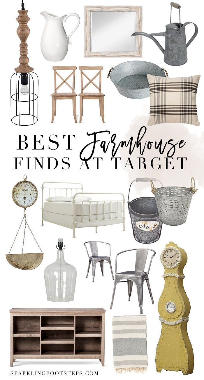 Best Farmhouse Finds from Target // Affordable Farmhouse Products for decorating your Home!