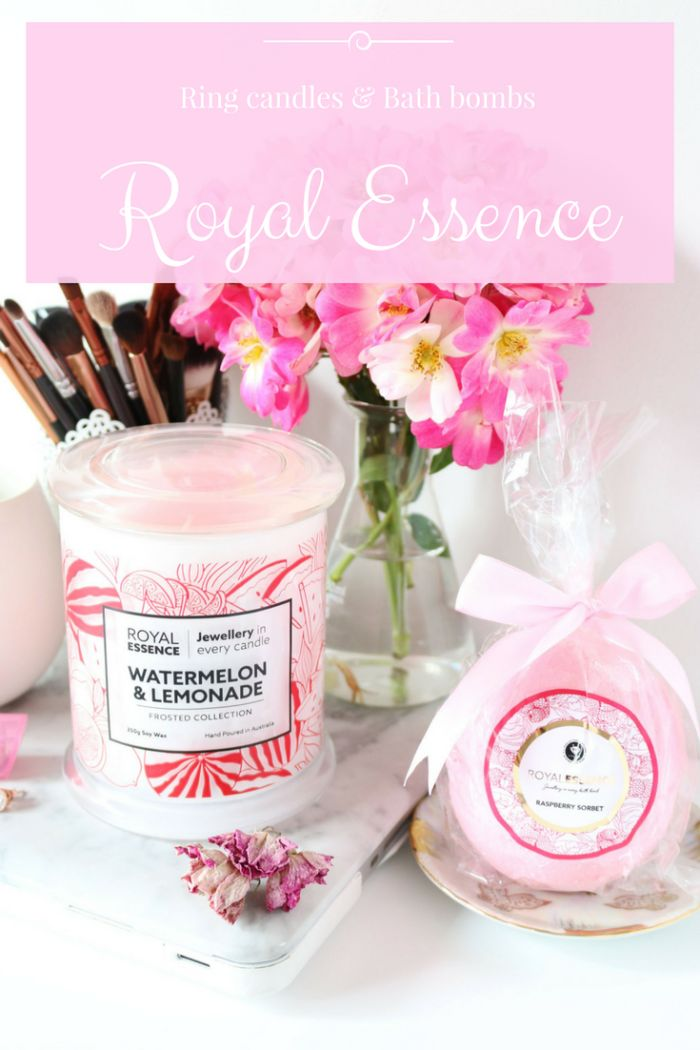 My latest blog post featuring the popular ring candle and ring bath bomb from Royal Essence Co.