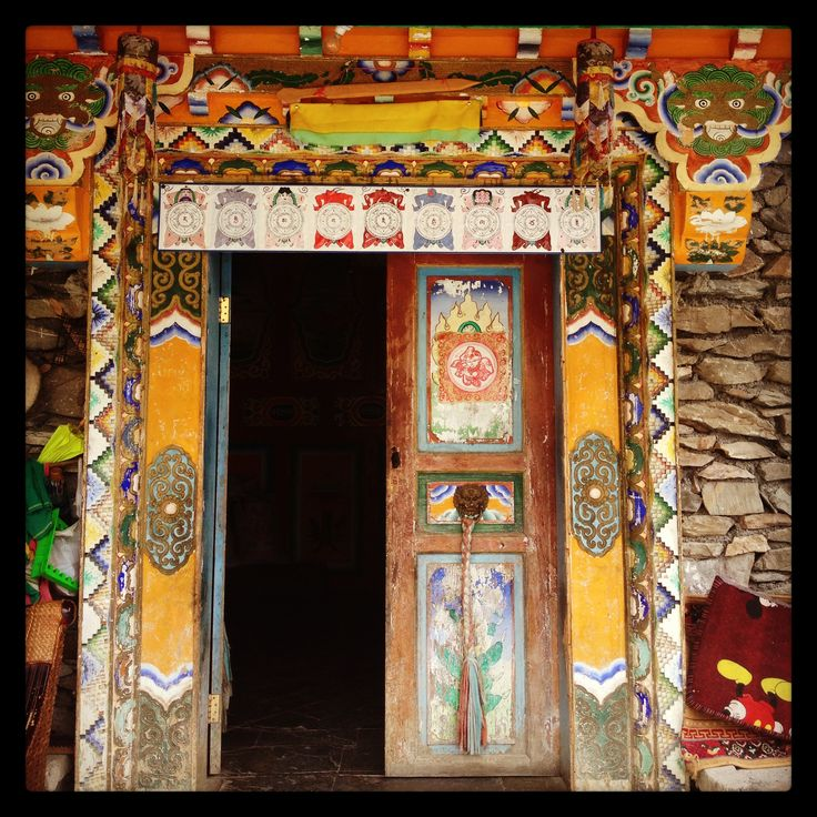 38 Best Tibetan Doors Furnitures Things Images On