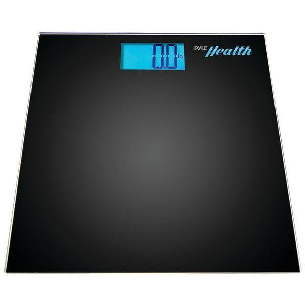 Bluetooth(R) Digital Weight Scale (Black) - PYLE - PHLSCBT2BK