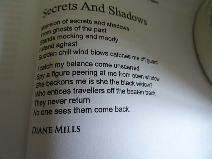 dmilly1234:My published scary poem! ☺ Published by Forward Poetry Publishers