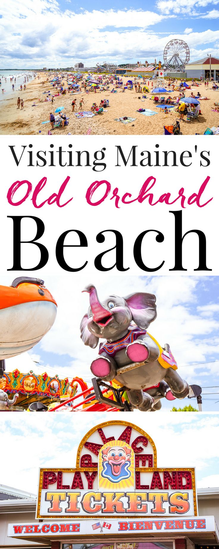 Planning a summer trip to Maine, make sure you add Old Orchard Beach to your…
