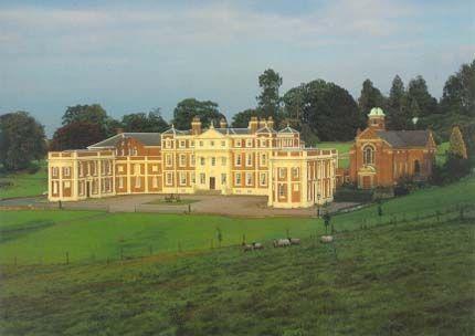 Hawkstone Hall in Shropshire ~ model for Lord Raincliff's estate