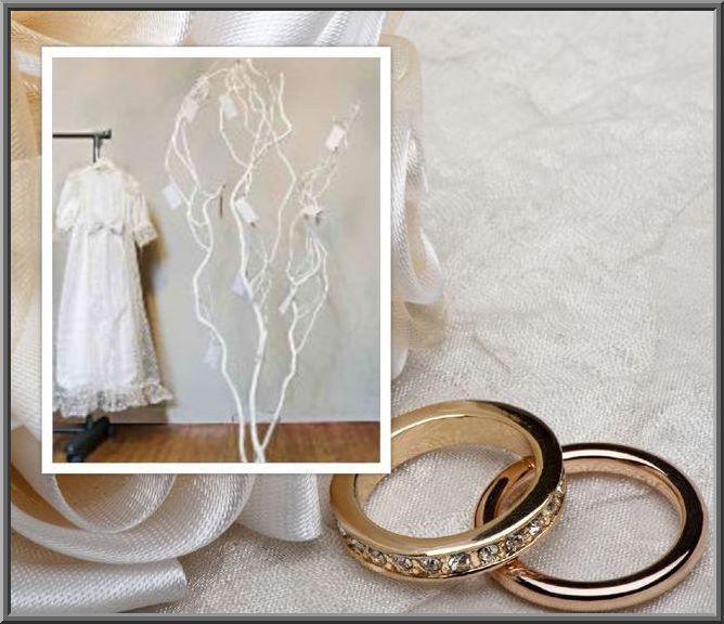 Wensboom bij bruiloft. verkrijgbaar webshop decoratietakken