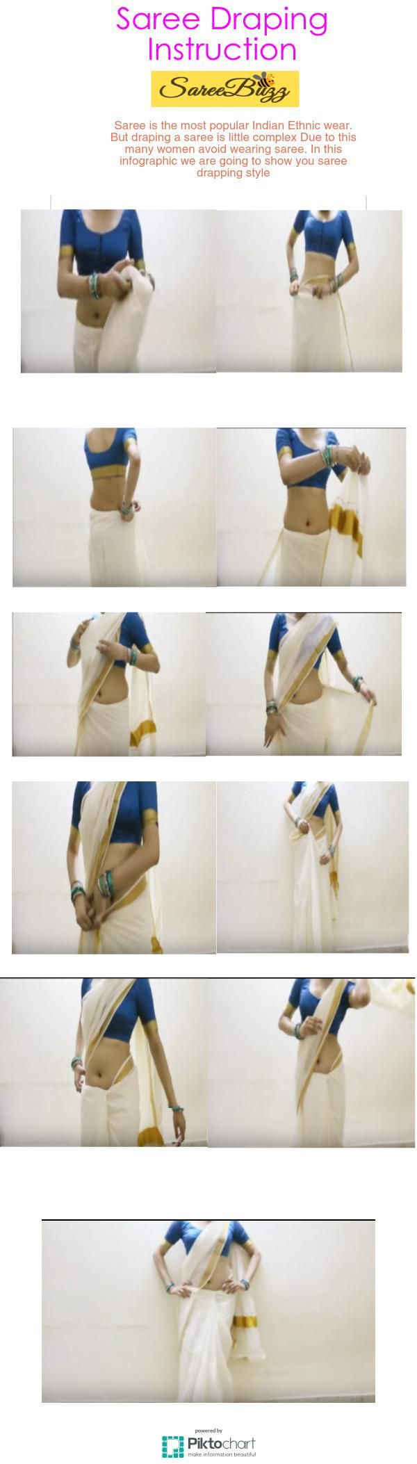 How to Wear a Saree hot woman wearing saree