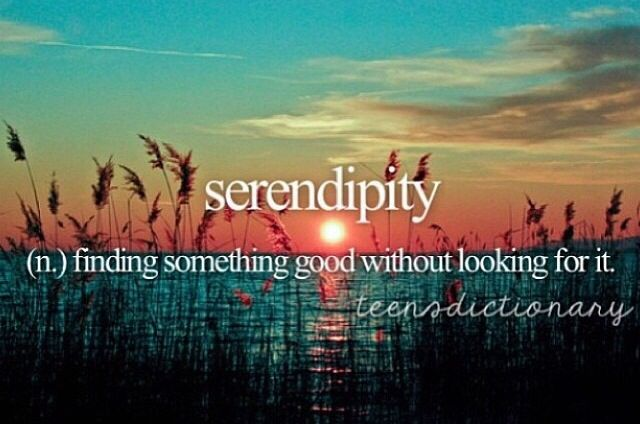 There was a movie called serendipity And it was terribly boring