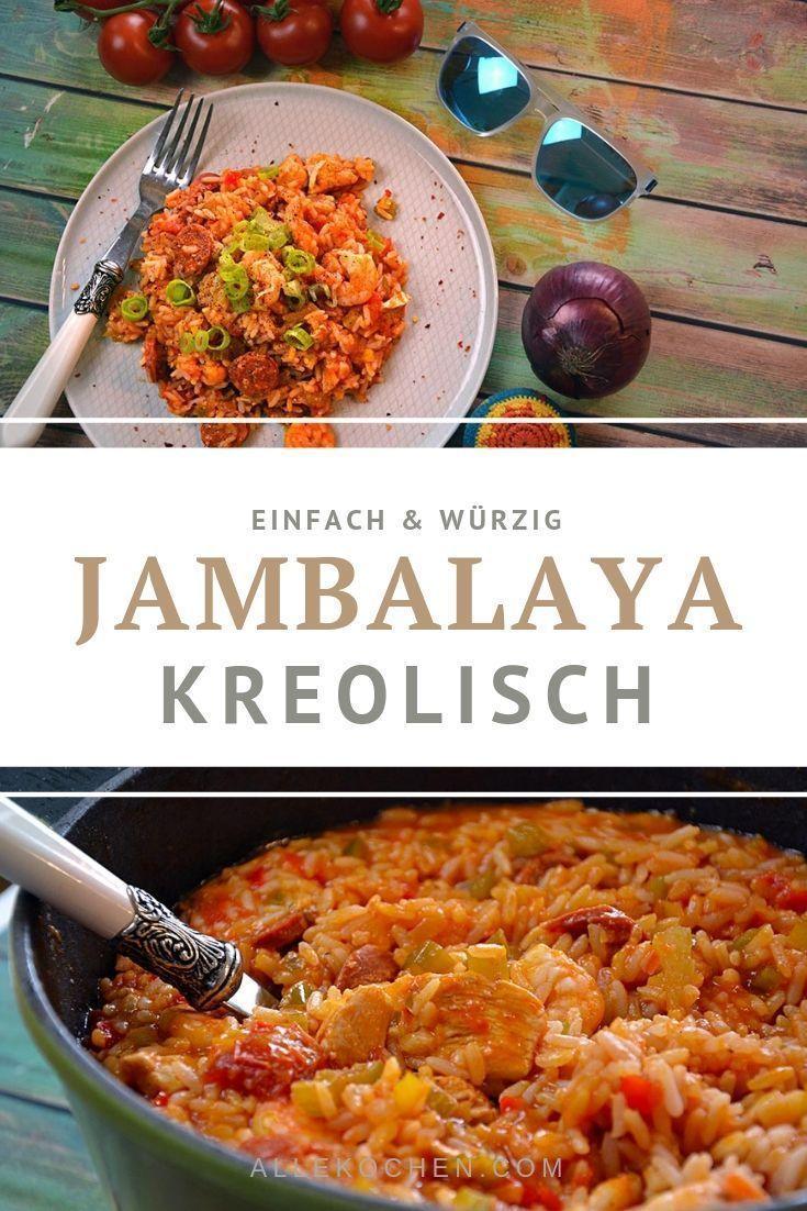 Jambalaya Rezept Mit Cajun Gewurz Wirths Crockpotrtt In 2020 Jambalaya Recipe Jambalaya Ground Beef Recipes Easy