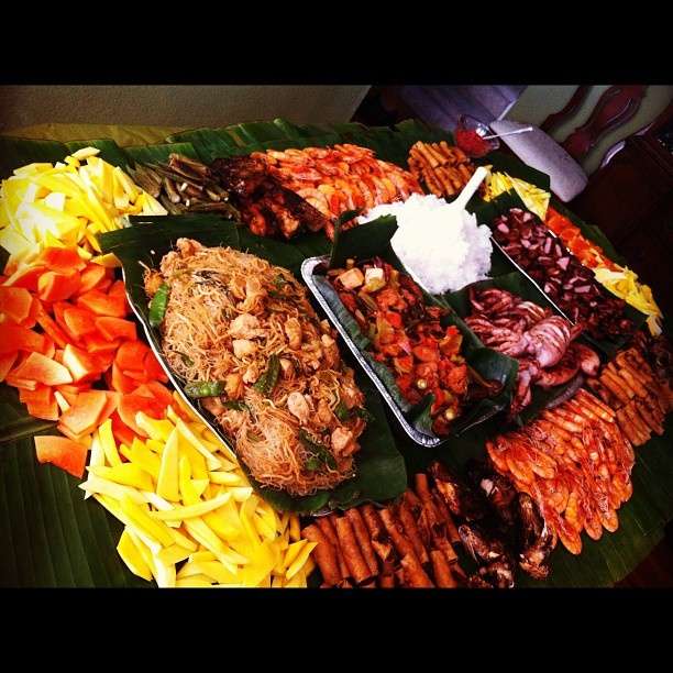 56 Best Images About Boodle Fight On Pinterest