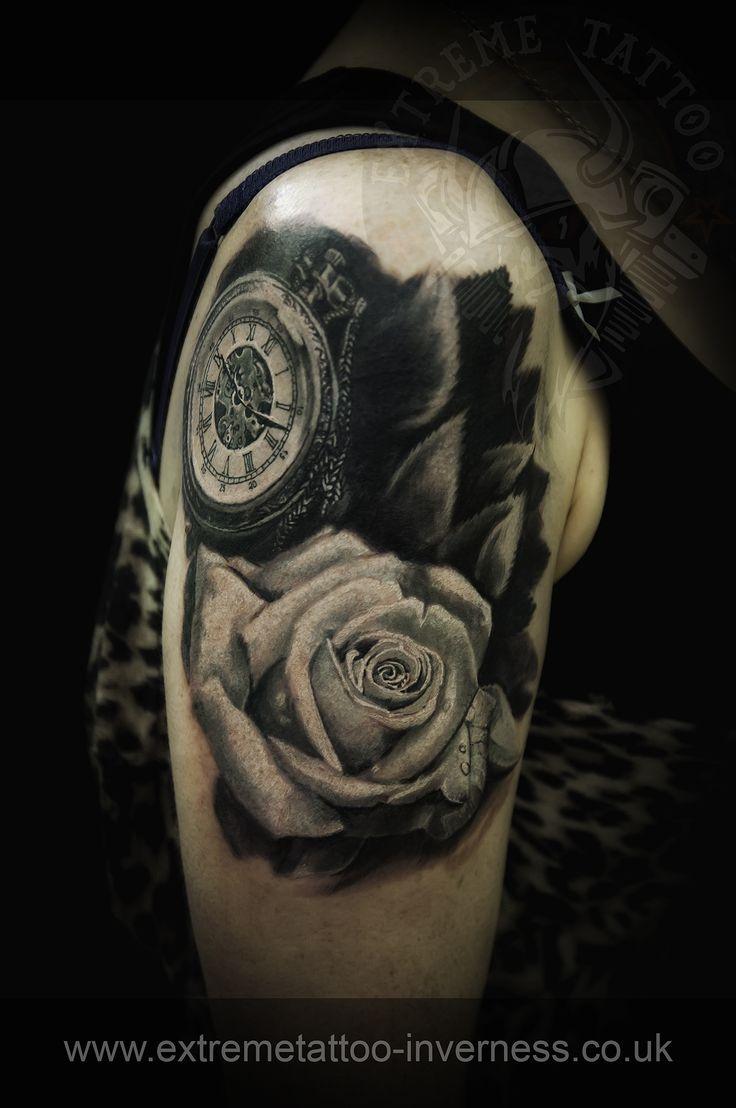 Rose tattoo, Pocket watch tattoo ,cover up, Cosmin Raducanu, Extreme tattoo&piercing.Inverness, Fort William.Highland.Realistic tattoo, Black and grey tattoo, Japanese tattoo, Traditional tattoo, Floral tattoo, Chinese tattoo, Fine line art tattoo, Old school tattoo, Tribal Tattoo, Maori tattoo, Religious tattoo, Pin-up tattoo, Celtic tattoo, New school tattoo, Oriental tattoo, Biomechanical tattoo Inverness tattoo
