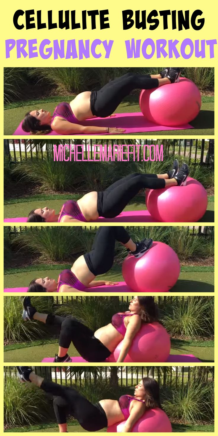 Cellulite Busting Pregnancy Workout.  No gym required.