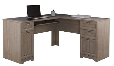 realspace magellan collection l shaped desk gray item 822239 rh pinterest com