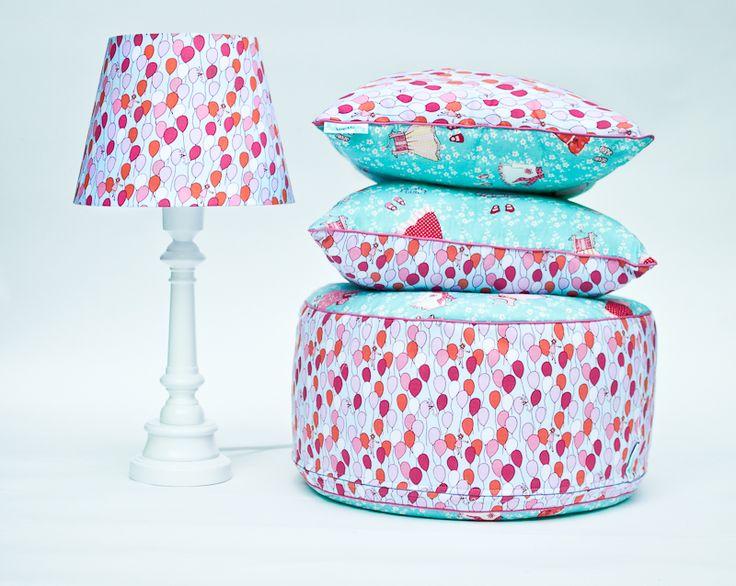 Puf baloniki, Projektant: Lamps&Co, Wartość: 249 zł, Radość z bycia matką: bezcenne. Powyższy materiał nie stanowi ofery handlowej