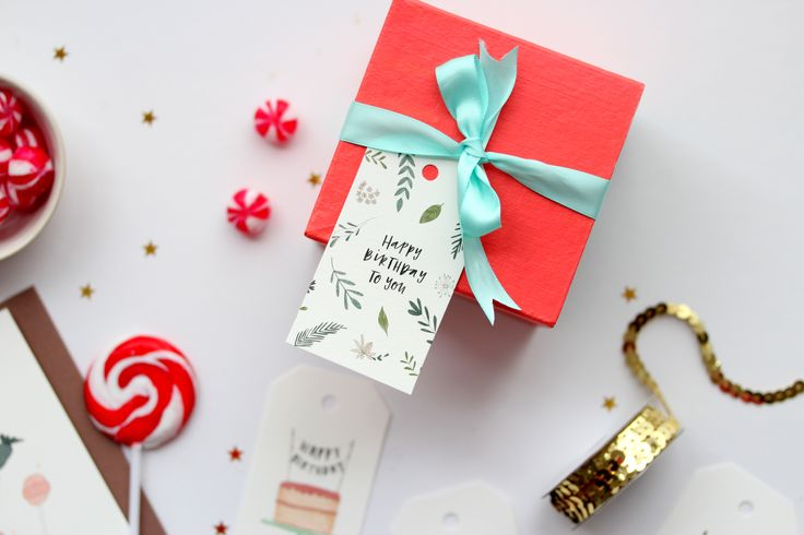 Gift Tag Styling for In the Daylight