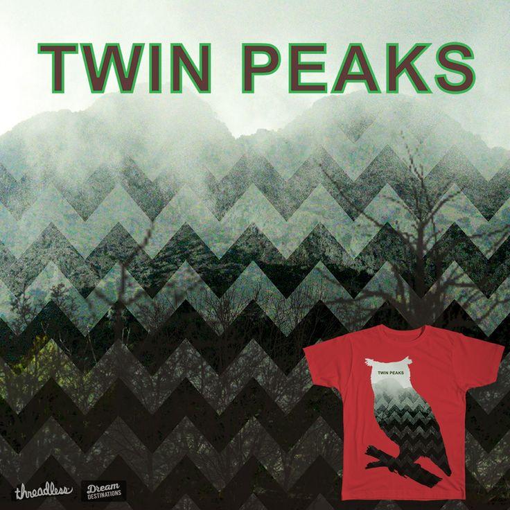 Twin Peaks on Threadless