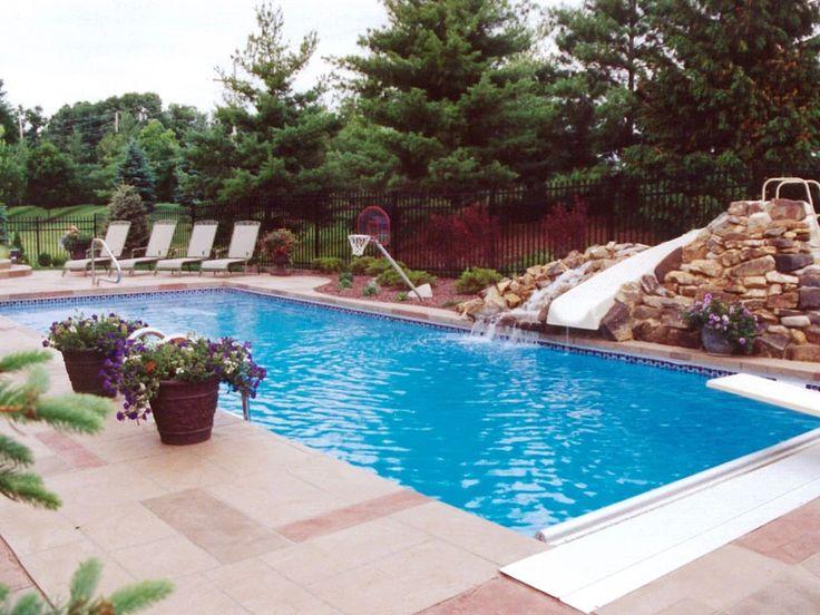 Rectangle Viking Pools Midwest Pools Inc Viking Pools Fiberglass Pools Rectangular Pool