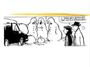 Image result for calvin and hobbes snowmen
