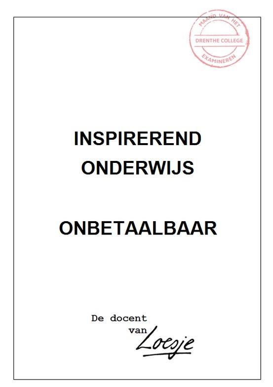 Inspirerend onderwijs - Diana Eijgenraam - Drenthe College