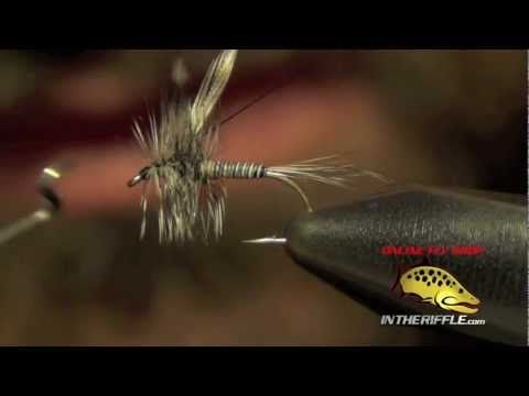 Mosquito Dry Fly - Mosquito Dry Fly Tying Instructions and How To Tie Tutorial - fly fishing video channel - Global FlyFisher
