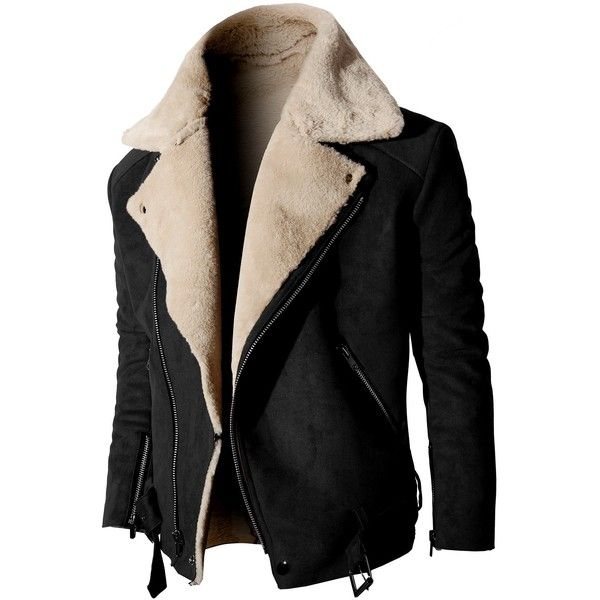 Mens Suede Jackets ❤ liked on Polyvore featuring men's fashion, men's clothing…
