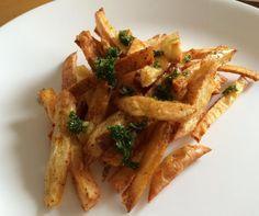 Receta de Patatas al horno con chimichurri #RecetasGratis #Recetasfáciles #RecetasSaludables #ComidaSaludable #Patatas