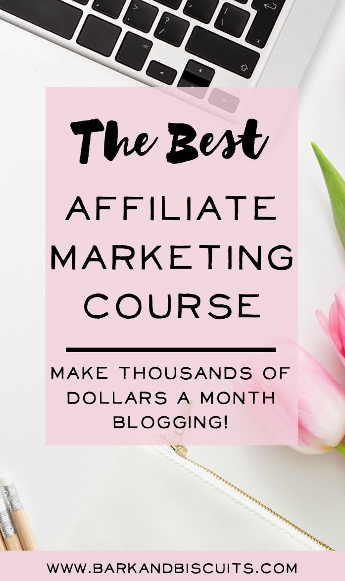 The very BEST course on Affiliate Marketing. I started making money right away blogging. It's amazing! #affiliate