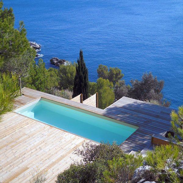 Les 25 meilleures id es concernant piscine rectangulaire for Idee amenagement jardin rectangulaire