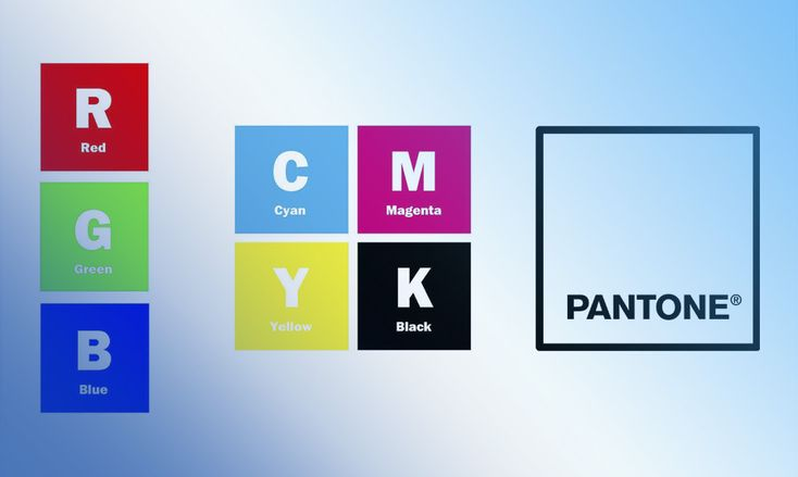 The RGB, CMYK and Pantone Difference Guide