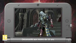 CASTLEVANIA LORDS OF SHADOW MIRROR OF FATE - TEASER ALUCARD - FR - 3DS