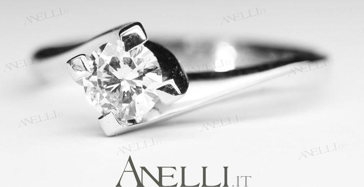 Anello Solitario da Fidanzamento in Oro bianco, modello Valentino, diamante di 0.45 carati colore D purezza VS1 - 2177€ iva inclusa, se acquisti entro il 21 dicembre lo ricevi garantito prima di Natale! <3 <3 condividete!!! <3 <3 http://www.anelli.it/it/anelli-solitario/anello-fidanzamento-0-45-carati-colore-d-purezza-vs1.html #anellifidanzamento #anellofidanzamento #gioiellifidanzamento #lastminutenatale #natale2014 #regalinatale2014 - www.anelli.it <3 info@anelli.it <3 +39 0637515305 <3