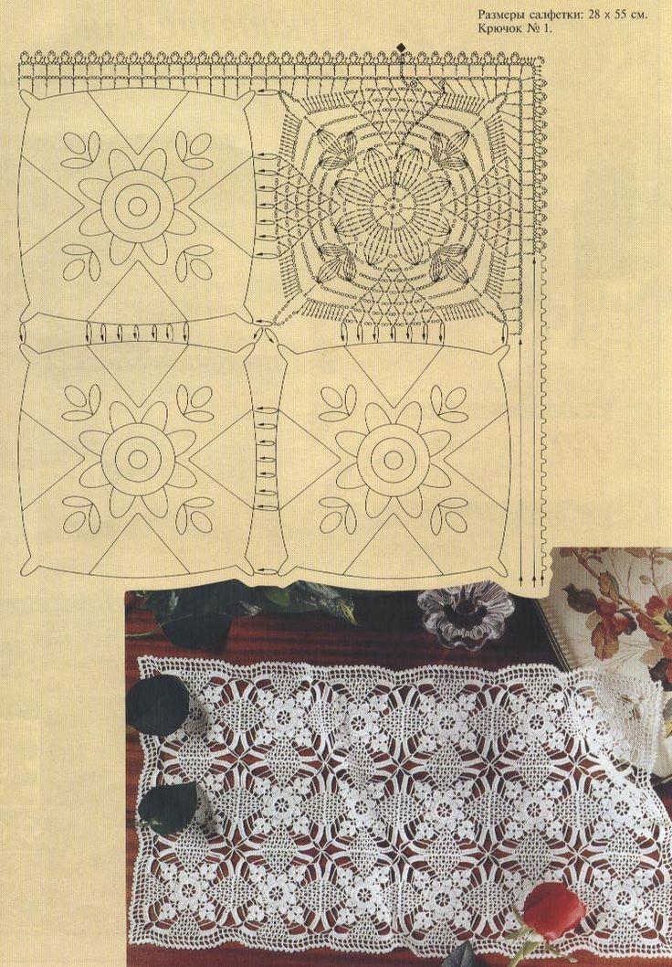Kira scheme crochet: Scheme crochet no. 1576