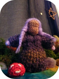 wooden knitting doll instructions
