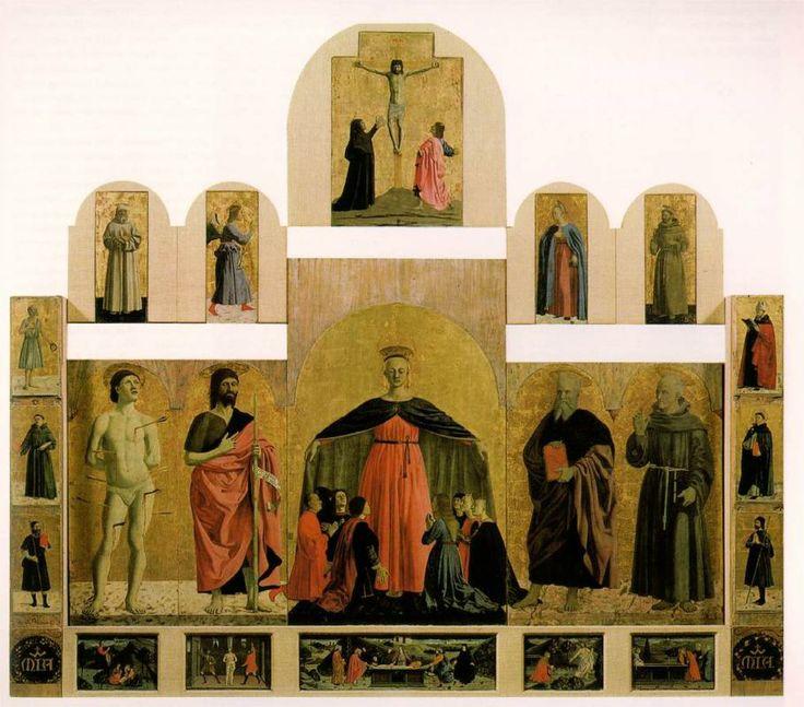 Piero della Francesca, Polyptych of the Misericordia, c. 1445 - 1462