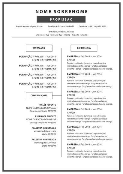 Para garantir seu modelo de Currículo Criativo é muito simples, basta seguir os seguintes passos: 1 - Escolha em nossa loja um modelo de Currículo Criativo e realize o pedido; 2 - Efetue o pagamento; 3 - Nos informe através de mensagem o e-mail no qual deveremos enviar o modelo por você esc...
