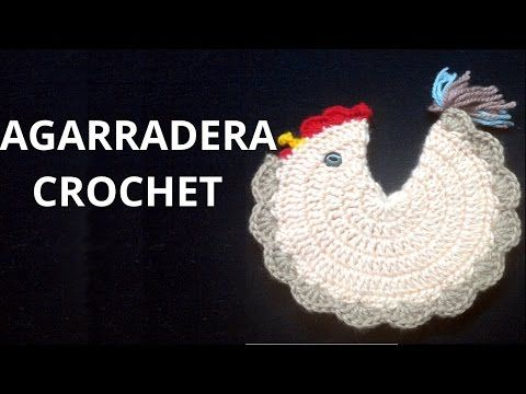 Agarradera Gallina Tejida a Crochet