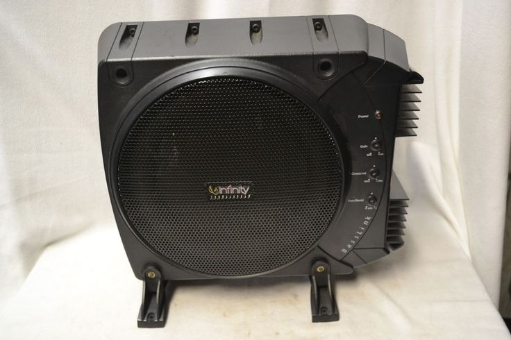 "Infinity BassLink 10"" Subwoofer 200W Powered Amp Speaker #Infinity"