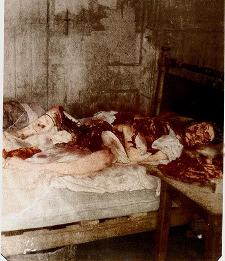 1888 – Mary Jane Kelly is murdered in London, widely believed to be the fifth and final victim of the notorious unidentified serial killer Jack the Ripper   Mary Jane Kelly