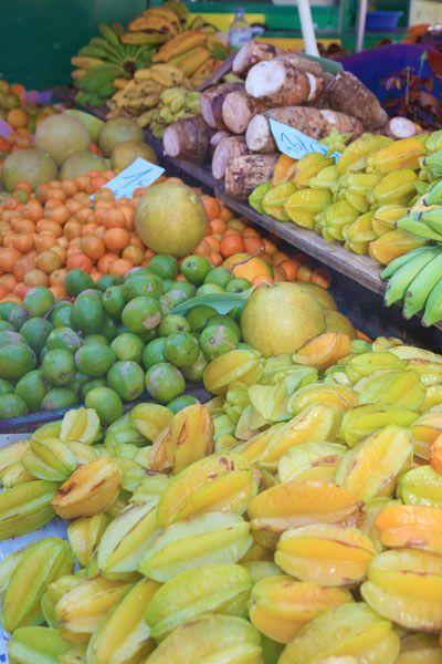 Fruits et légumes © Emmanuel Virin, IRT, Ile de la Réunion