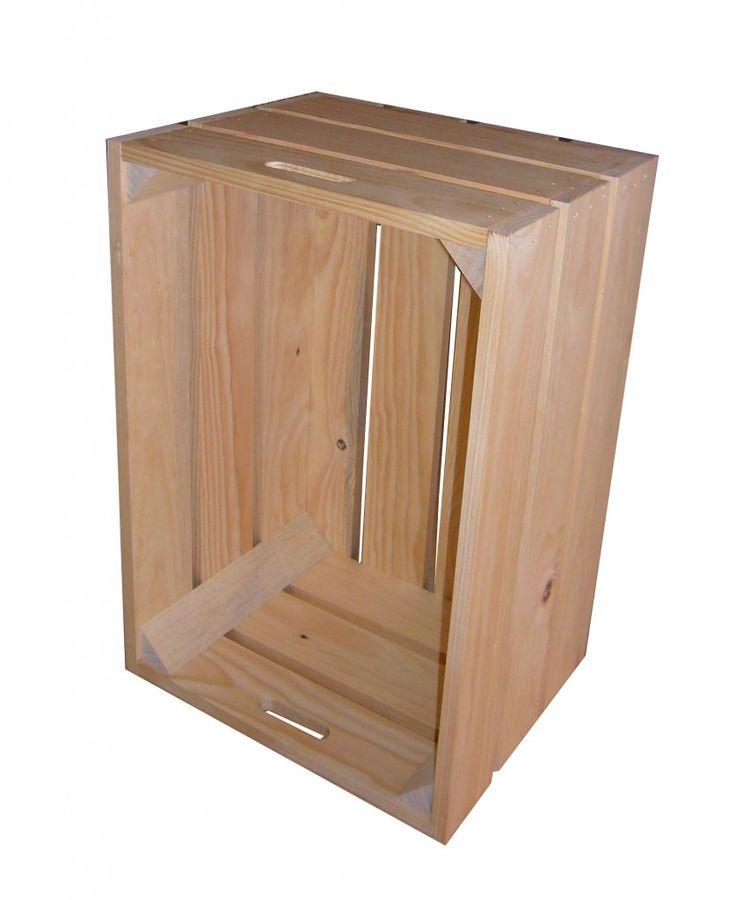 cajas de madera apilables u cajas de fruta vintage u cajas de vino euros