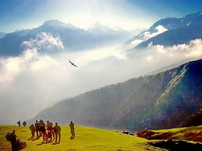 Trek from Kasol, Himachal, India