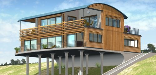 Prefab home,  marin county, prefabricated homes, vacant lots, architecture, green home