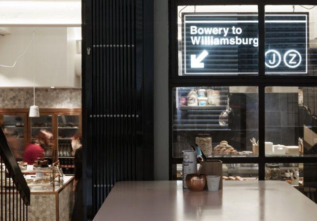 Bowery To Williamsburg, NY style diner, city