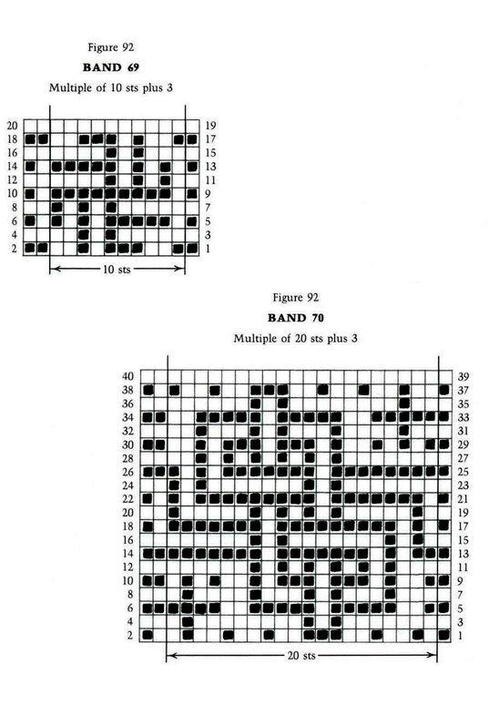 Mosaic Knitting Barbara G. Walker (Lenivii gakkard) Mosaic Knitting Barbara G. Walker (Lenivii gakkard) #140