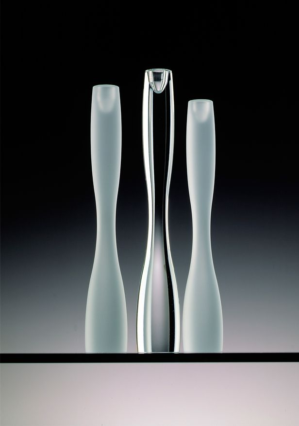 "Timo Sarpaneva - Art glass vases ""Marcel"", first taken into production in 1991, commercially produced also between 1992 - 1996, Finland."