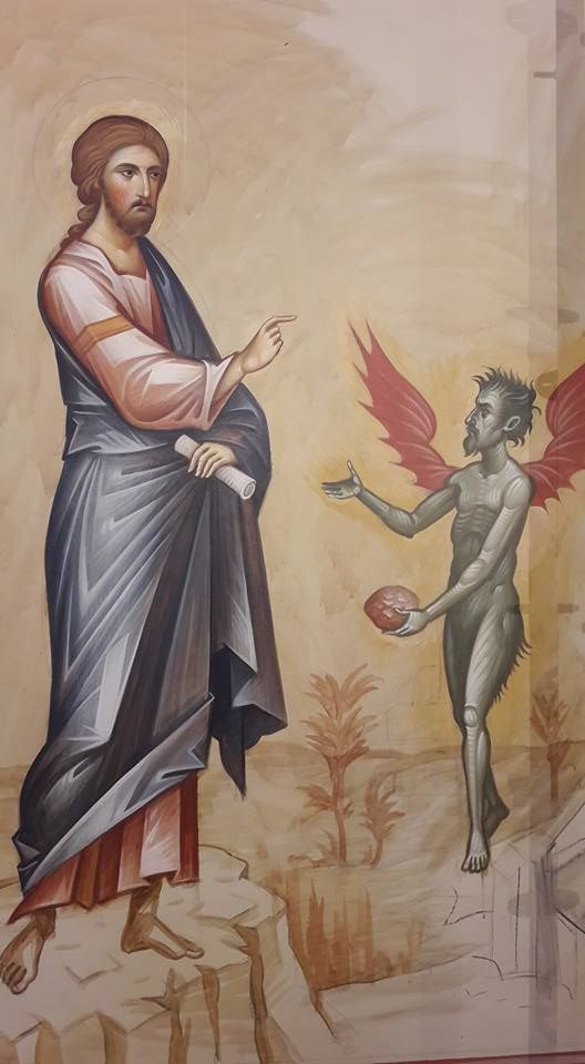 Πριν από το δικό του Πάσχα και πριν από το Πάσχα του λαού Του ο Χριστός εισέρχεται στην έρημο ( Ματθ. 4 , 1). Και όπως ο παλαιός Ισ...