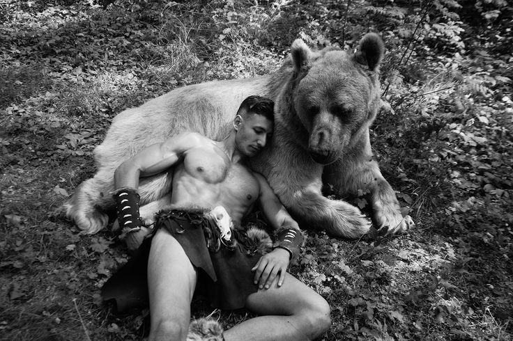 * - Efe and bear Stepan