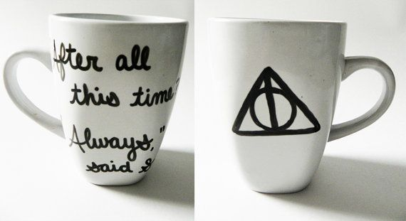 Harry Potter and the Deathly Hallows  Always said by Espressions, $15.00