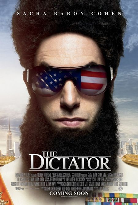 The Dictator: The Dictat, Dictat 2012, Favourit Movies, Movies Poster, Poster Quadro-Negro, Favorit Movies, Sacha Baron Cohen, Funnies Movies, Full Movies