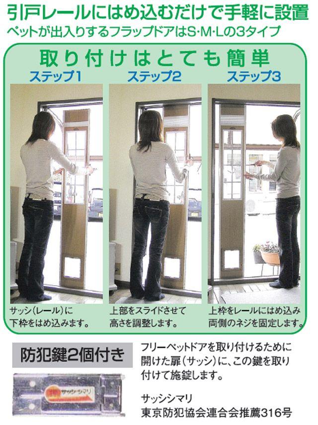 猫用ドアをどうする 自作でdiyか自動扉を取り付ける 築一報告