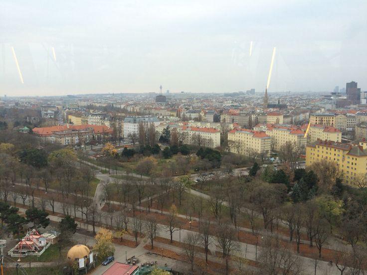 The city of Wien.