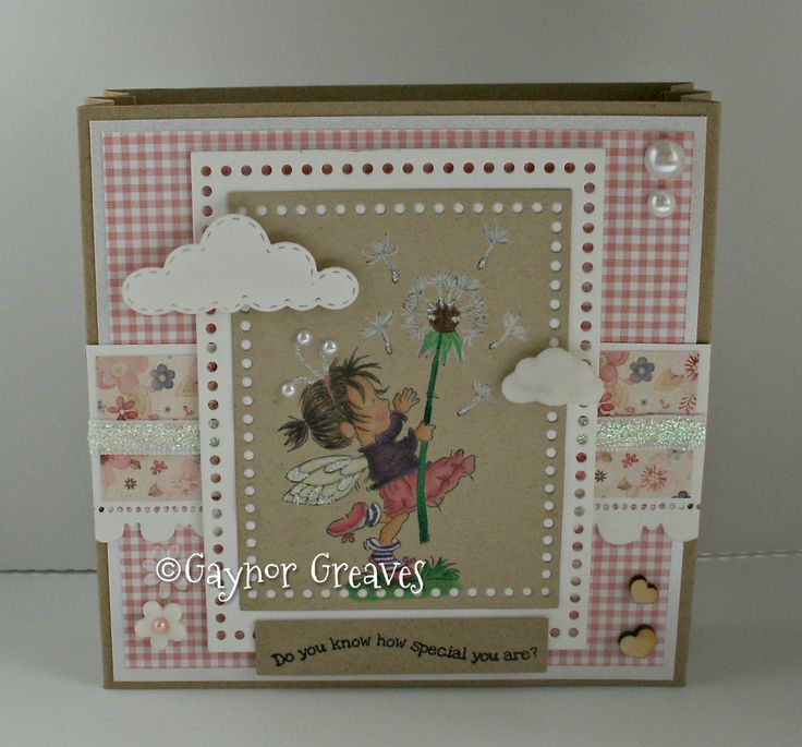 LOTV - Time Flies with Dress Shoppe Paper Pad and Birthdays are Best sentiments by Gaynor Greaves